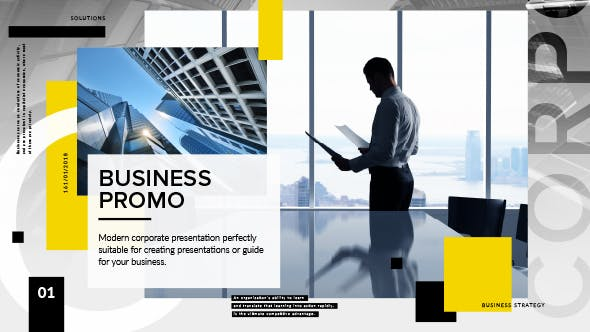 Thumbnail for Clean Corporate Presentation