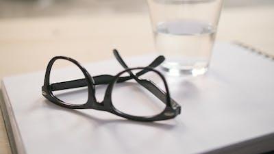 Eyeglasses and Glass