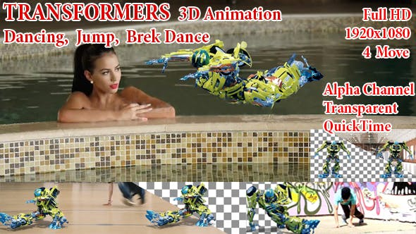Cover Image for Transformers 3D Dancing
