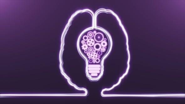 Brain with Bulb Gears