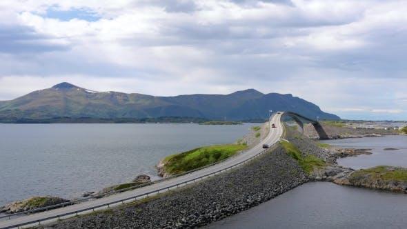 Atlantic Ocean Road Norwegian Construction of the Century