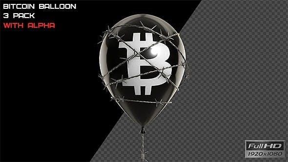 Thumbnail for Bitcoin Balloon - 3 Pack