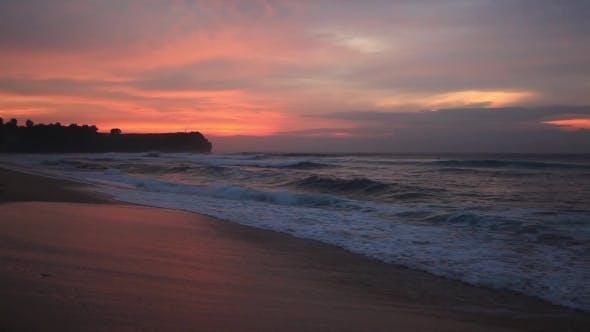 Thumbnail for Balangan Beach at Sunset in Bali, Indonesia.