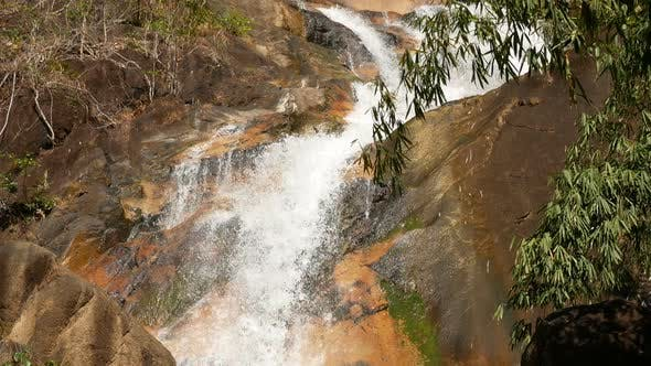 Thumbnail for Waterfall Falling To The Ground