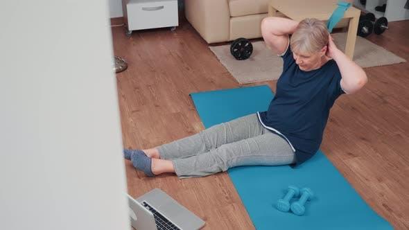 Thumbnail for Sportive Senior Woman