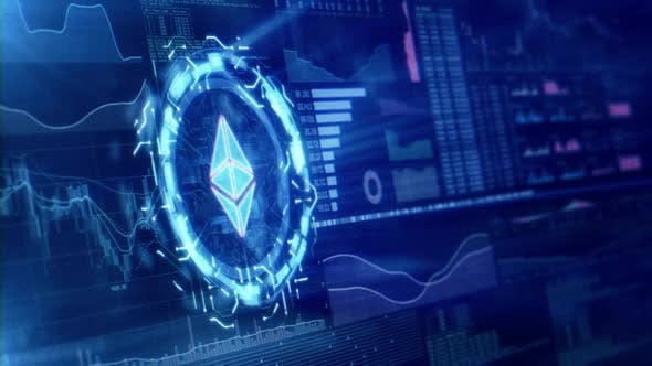 Thumbnail for Kryptowährung Digitaler Hintergrund