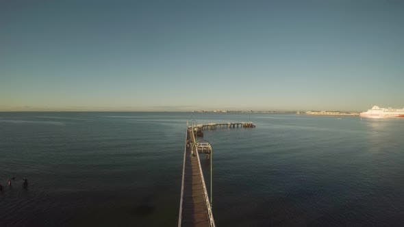 Thumbnail for Boy Running down Pier - Port Melbourne