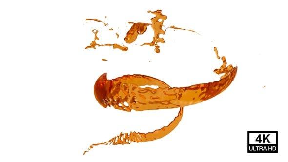 Twisted Honey Splash 4K