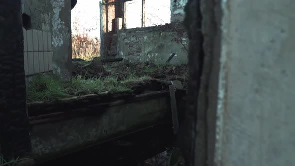 Thumbnail for Ruined Room Of An Abandoned House