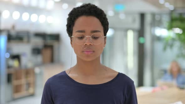 Thumbnail for Portrait of Casual African Woman Feeling Disappointed, Sad