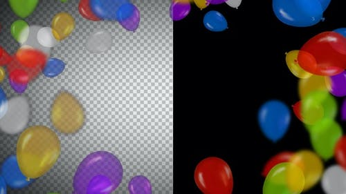 Balloons Frame and Transitions