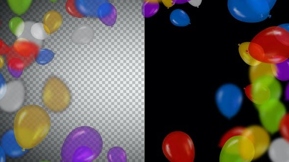 Thumbnail for Balloons Frame and Transitions