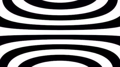 Looped optical monochrome illusion