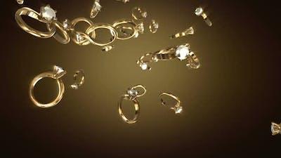 Falling Diamond Rings