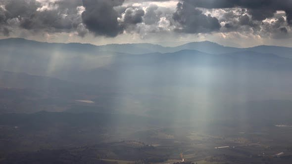 View of the Sunbeam in the Plain