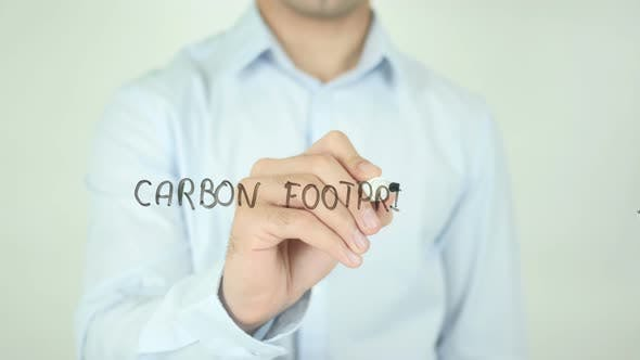 Thumbnail for Carbon Footprint, Writing On Screen
