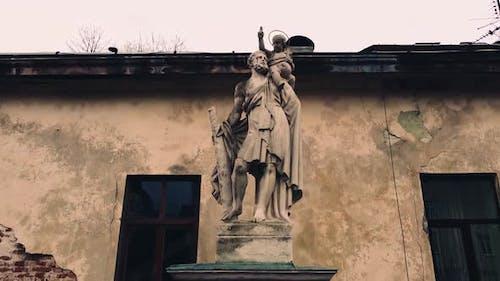 Column of St. Christopher early XVIII century