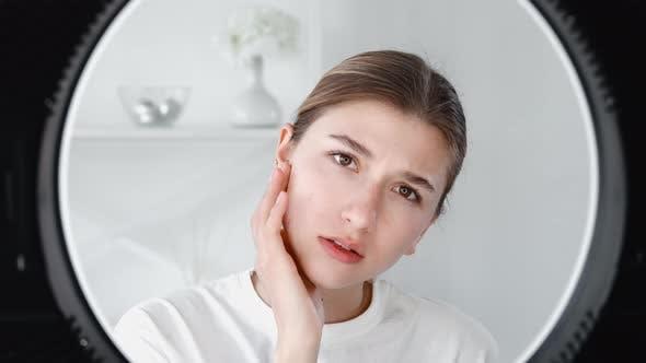 Antiaging Treatment Skin Rejuvenation Woman Face