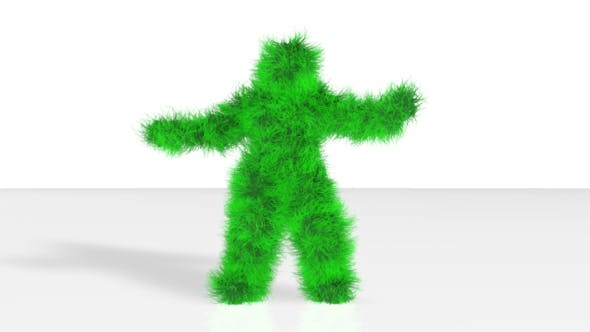 Thumbnail for Green Yeti Funny Dance Background