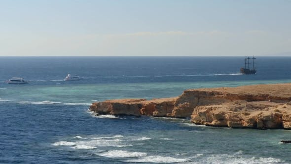 Thumbnail for Rocky Coast and the Red Sea in the Ras Muhammad National Park