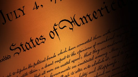 US Declaration of Independence - VII