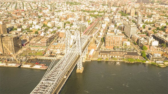 Thumbnail for Williamsburg Bridge in New York City