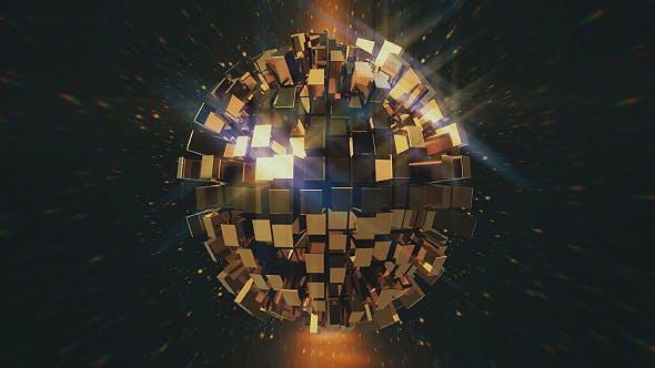 Thumbnail for Gold Disco Ball