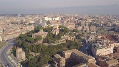 Cityscape of Rome
