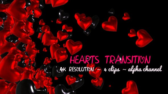 Thumbnail for Hearts Transition Pack 01