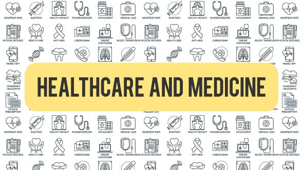 Thumbnail for Healthcare And Medicine - Outline Icons