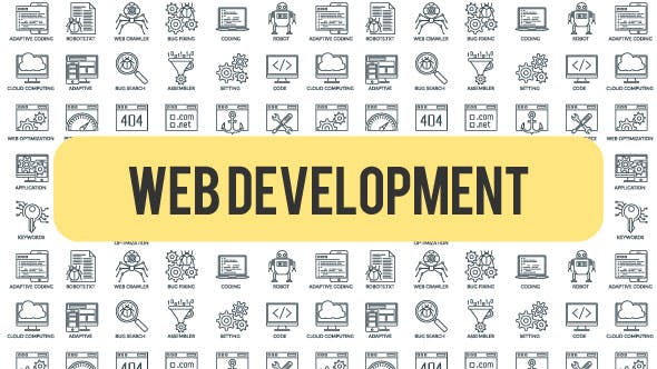 Thumbnail for Programming And Development - Outline Icons