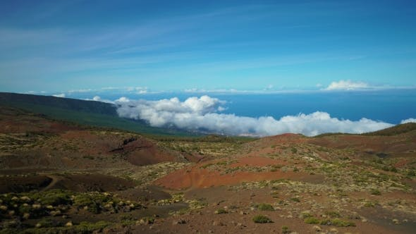 Thumbnail for of Clouds Over Mountains at Teide Vulcano Area