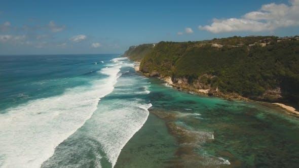 Thumbnail for Aerial View Beautiful Beach