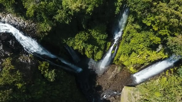 Thumbnail for Beautiful Tropical Waterfall