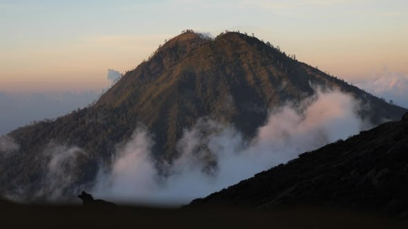 Thumbnail for Mountain Landscape with Sunrise. Bali,Indonesia