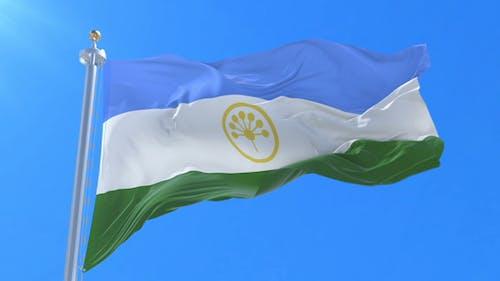 Bashkortostan Flag Waving
