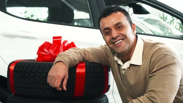 Thumbnail for A Nice Man Sits Next To the Gift New Wheels