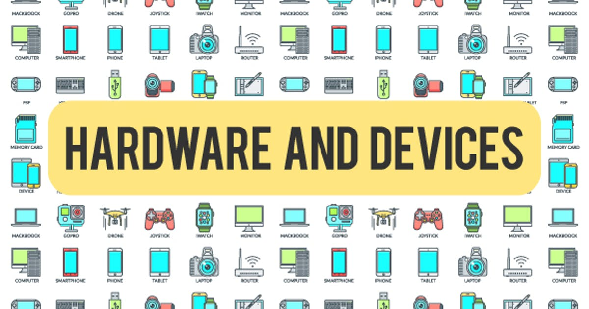 Download Hardware And Devices - 30 Animated Icons by FRAMME