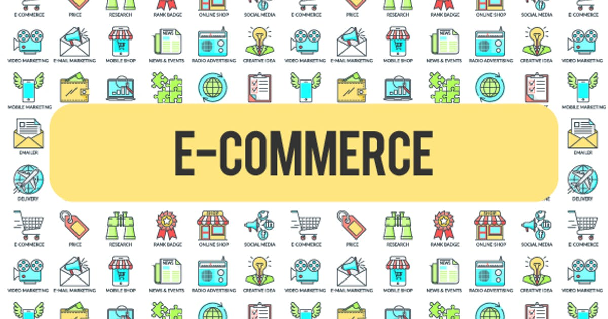 Download E - Commerce - 30 Animated Icons by FRAMME