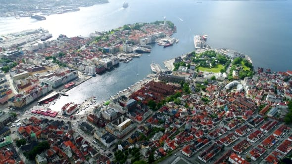 Thumbnail for Bergen Is a City and Municipality in Hordaland on the West Coast of Norway