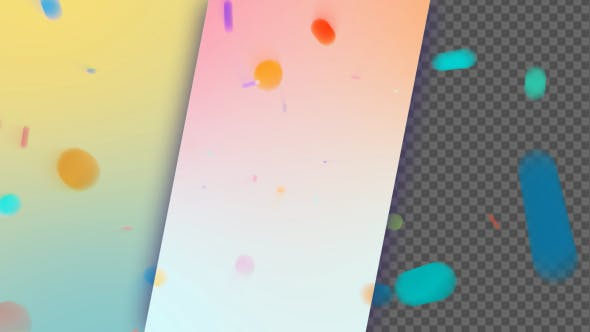 Thumbnail for Sweet Colors Bokeh Background And Overlay V5