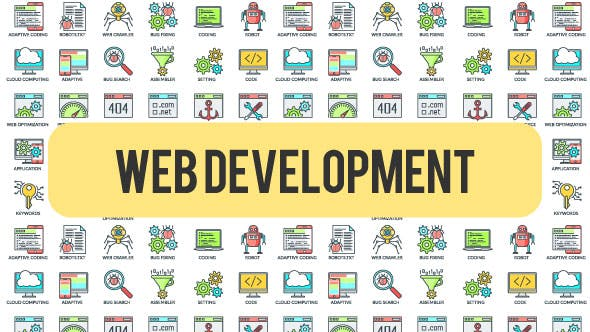 Thumbnail for Web Development - 30 Animated Icons