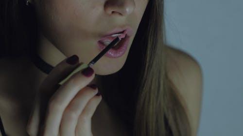 The Model Lipstick Pink Lip Gloss.