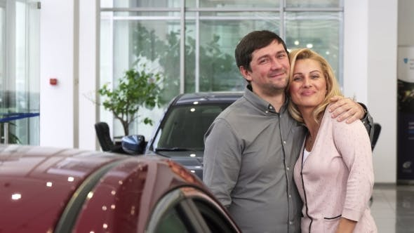 Thumbnail for Happy Mature Woman Receiving Car As a Present From Her Loving Husband