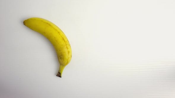 Cover Image for Banana on White Table