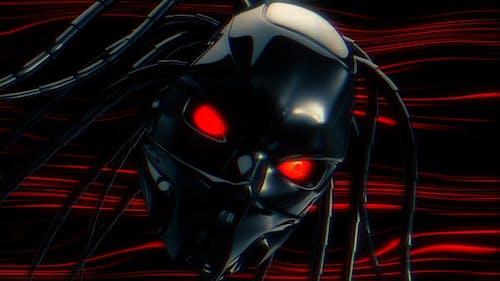 Cyborg Eye Tunnel Loop