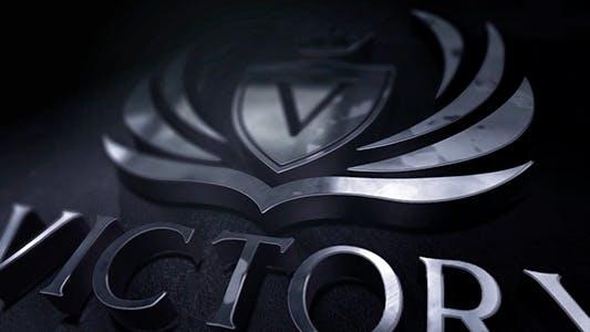 Thumbnail for Logo 3D Chrome Révélation
