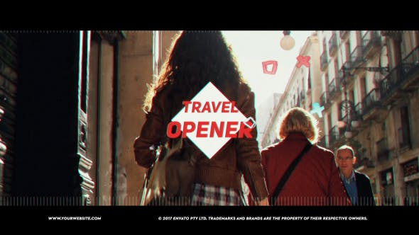 Cover Image for Travel Vlog Opener