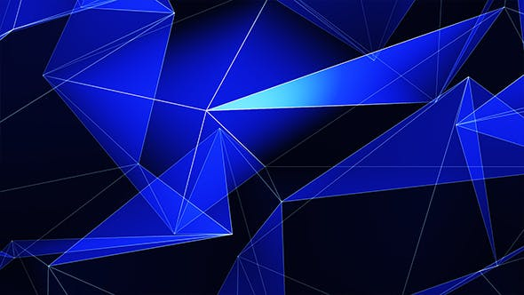 Blue Triangles Refraction