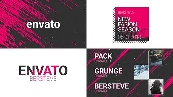 Grunge Broadcast Package